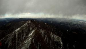 大山2回目の雲底